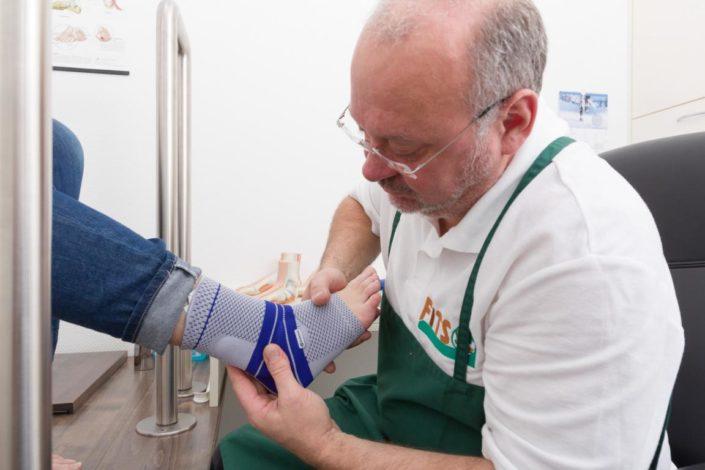 Fits Orthopädie Bandagen Anprobe