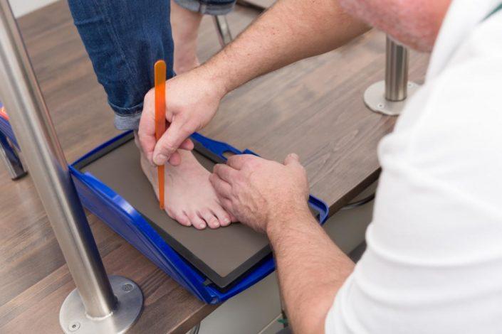 Fits Orthopädie Fußmessung