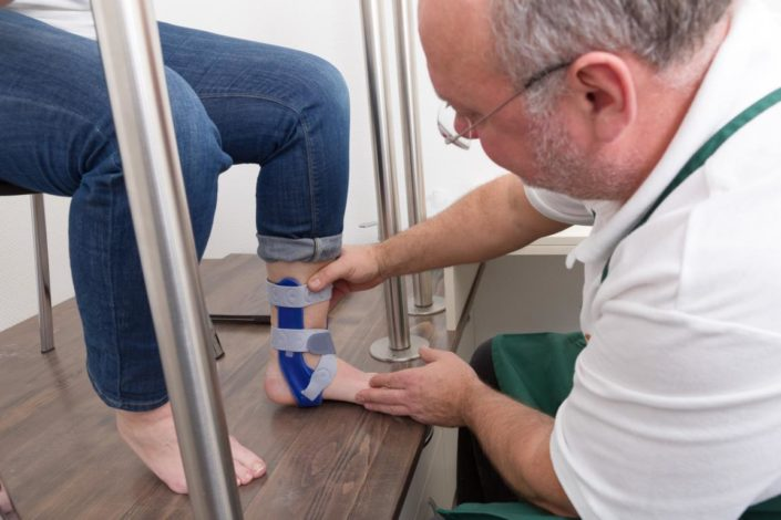 Fits Orthopädie Fußorthesen Beratung